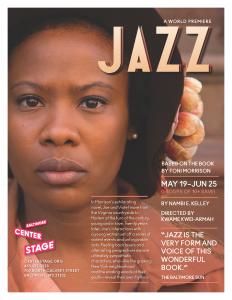 """Baltimore Center Stage present """"Jazz"""""""