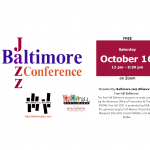 Announcing the 2021 Baltimore Jazz Conference